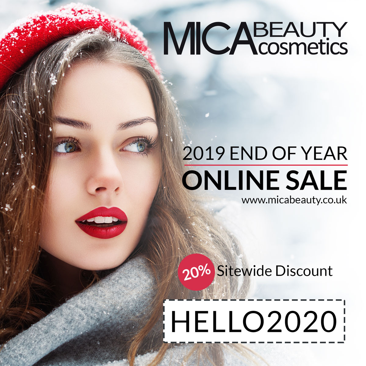 End of Year 2019 Online Sale
