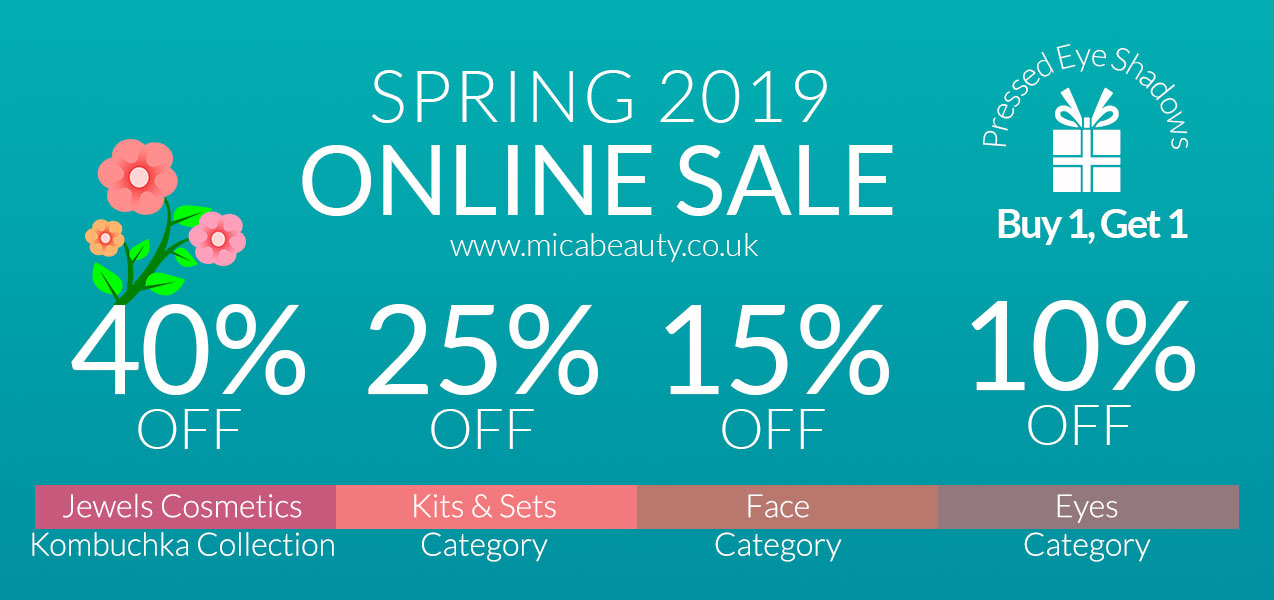 Online Spring Sale on Micabeauty UK